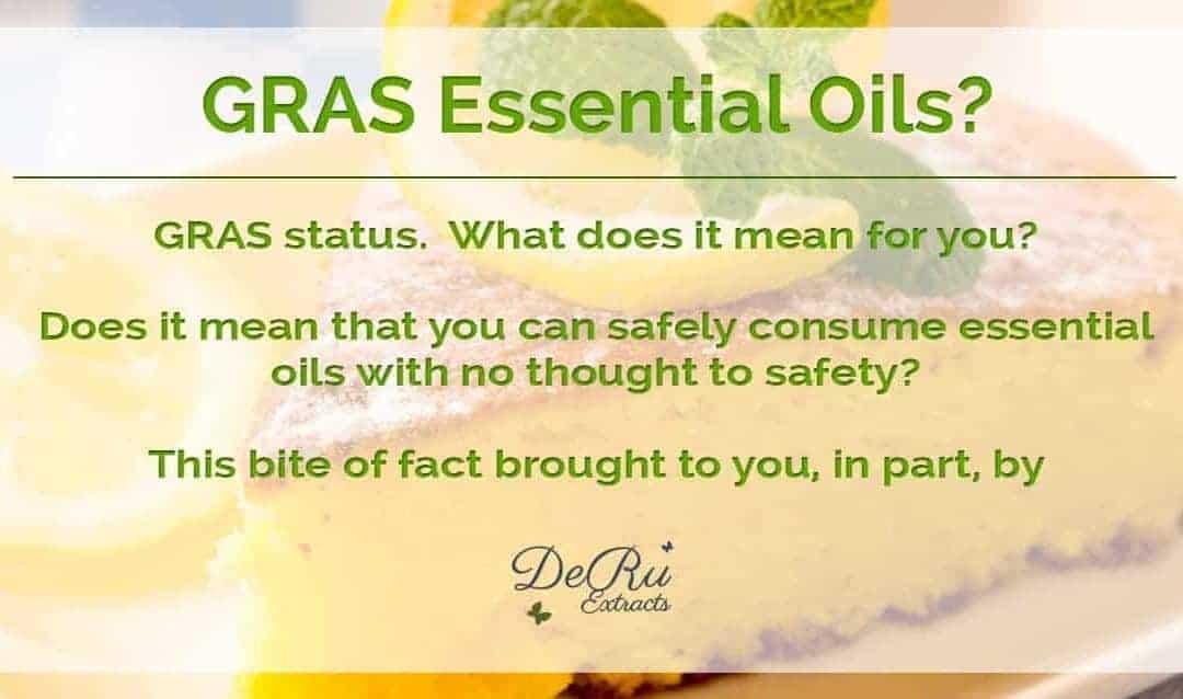 GRAS Essential Oils?