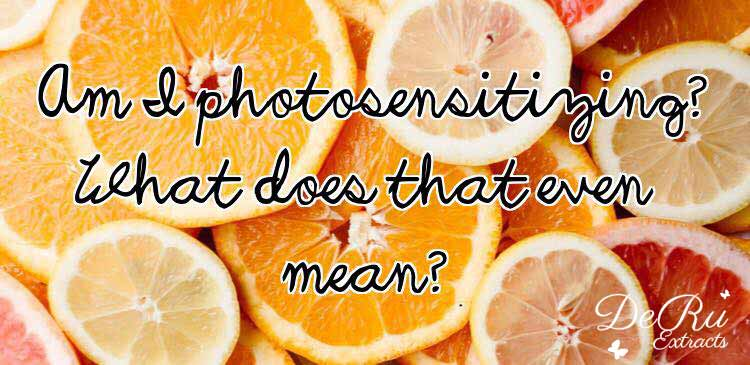 Fun Fact Friday – Am I Photosensitizing?