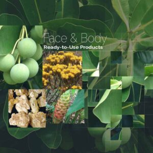 Face, Body & Salves